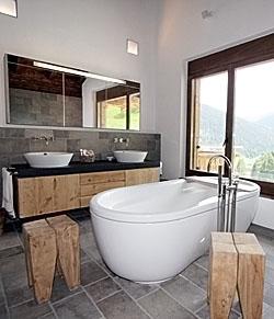 Badezimmer altholz  Ambühl Schreinerei Davos